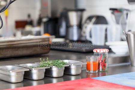 restaurant kitchen interior cook cooking facility