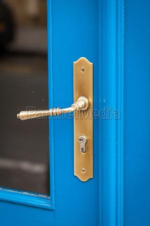 doorknob doorknob at a wooden door