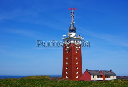 lighthouse of helgoland