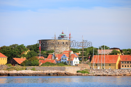 the big tower christiansoe bornholm denmark