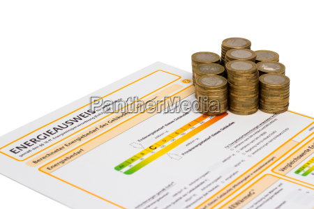 energy certificate and money