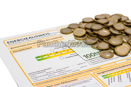energy performance certificate and money