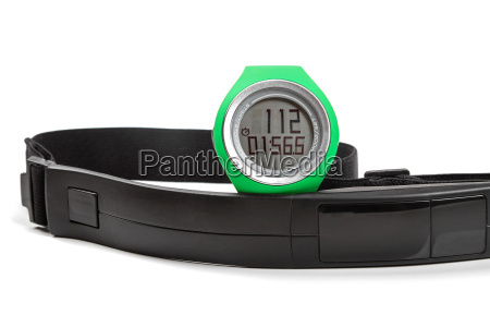 sport heart rate monitor watch and