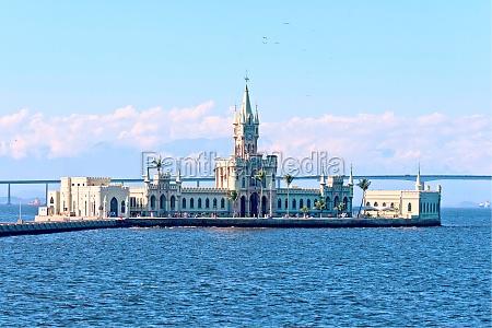fiscal island in guanabara bay rio