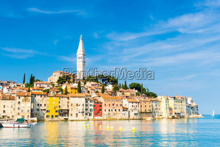 coastal town of rovinj istria croatia