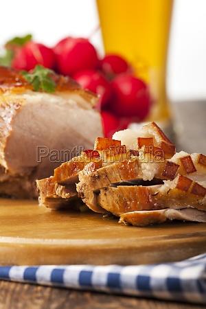 bavarian roast pork with beer