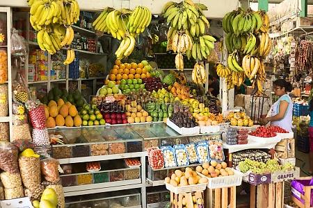 surquillo market in lima peru