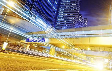 hong kong modern city high speed