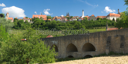panorama rothenburg ob der tauber