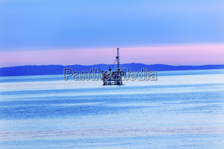 eilwood offshore oil well offshore platforms
