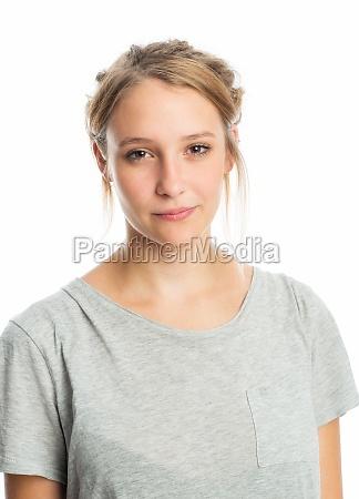 sensual blond girl