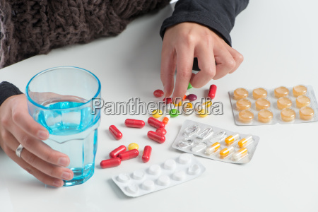 many different medications