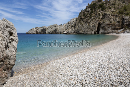 beach on the island of karpathos