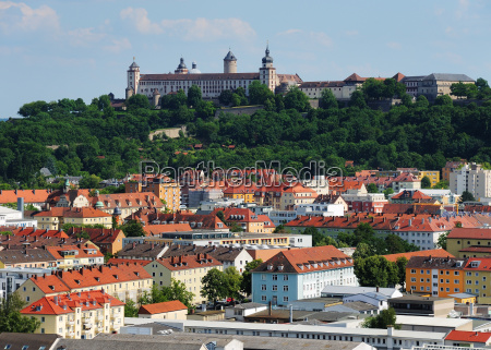 wuerzburg marienburg fortress and city bavaria