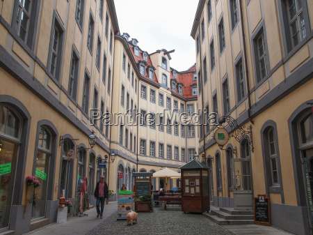 tourists in leipzig germany