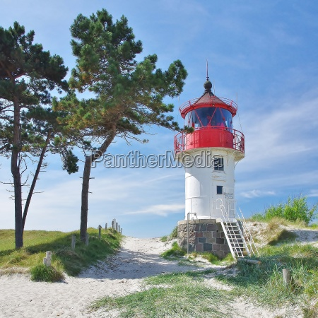 quermarkenfeuer yells southshore lighthouse seaside hiddensee
