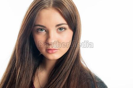 sensual girl face