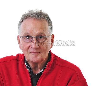 portrait of a pensioner