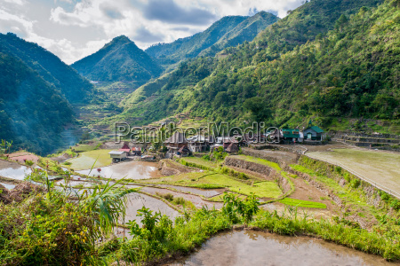rice terraces and banga an village