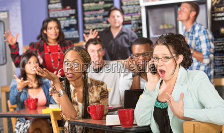 obnoxious customer on phone