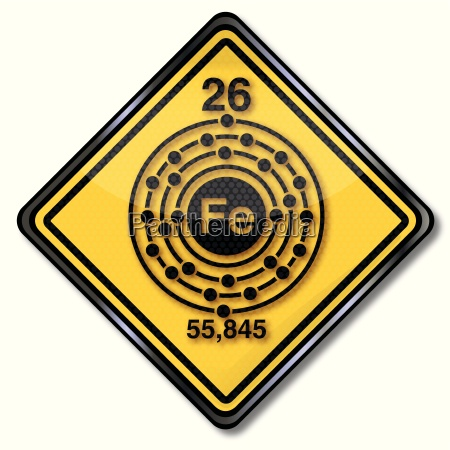 chemistry shield and chemical characters iron