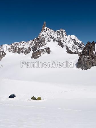 mountain base camp