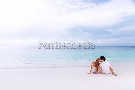 kisses on the beach