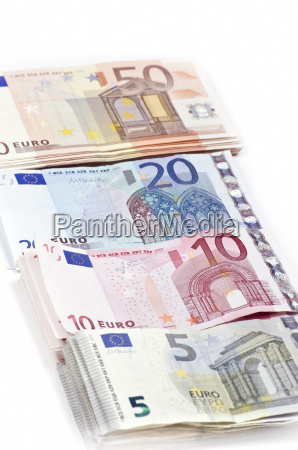 banknotes of different value