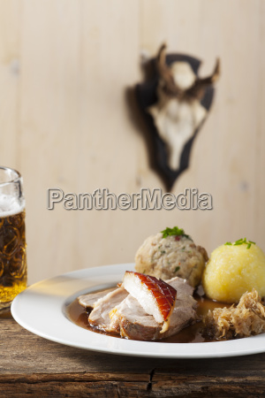 bavarian roast pork with beer