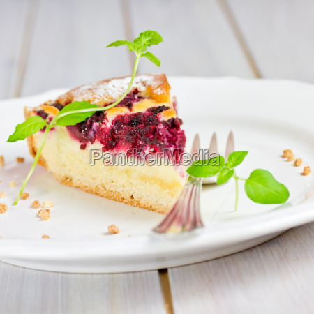 pie with currants