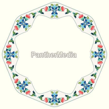 ottoman motifs design series sixty four