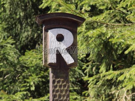 rennsteig sign