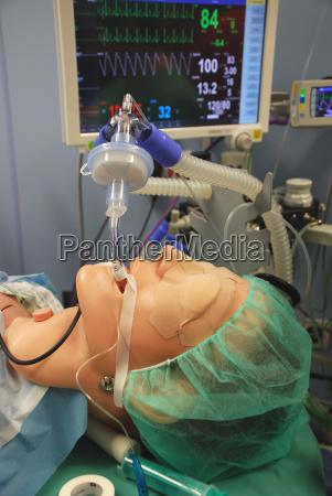 hospital icu invasive ventilation intubation