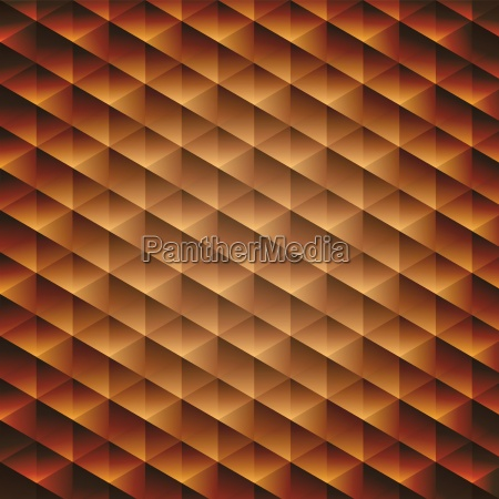 gold gradient geometric cubic background