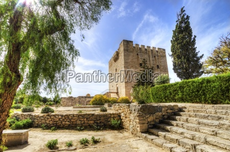 medieval castle of kolossi limassol cyprus
