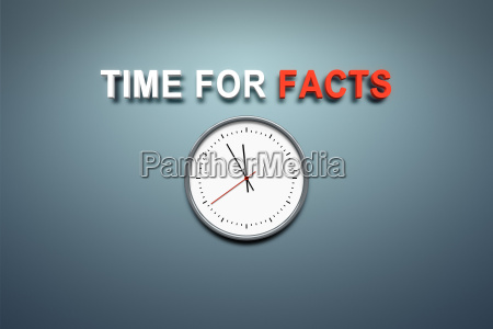 time for facts at the wall