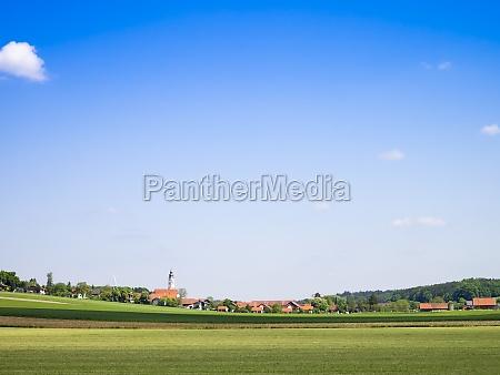 blue sky bavaria