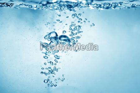 water bubbles background