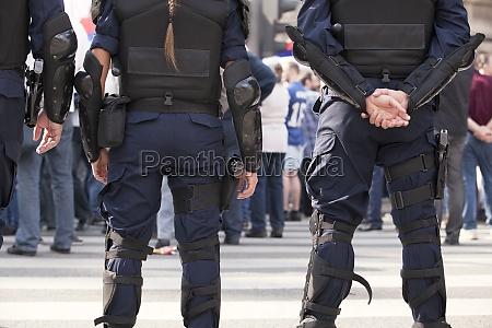 armed police on duty