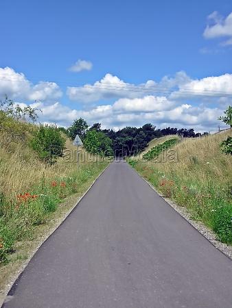 cycling trail spur der steine