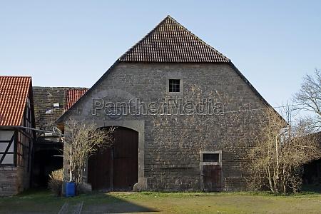 old barn in grohnde