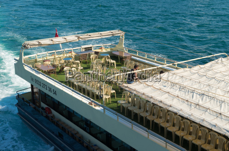 ferry boat deck