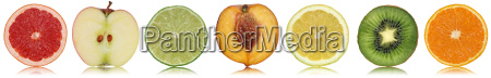 healthy fruits such as apple orange