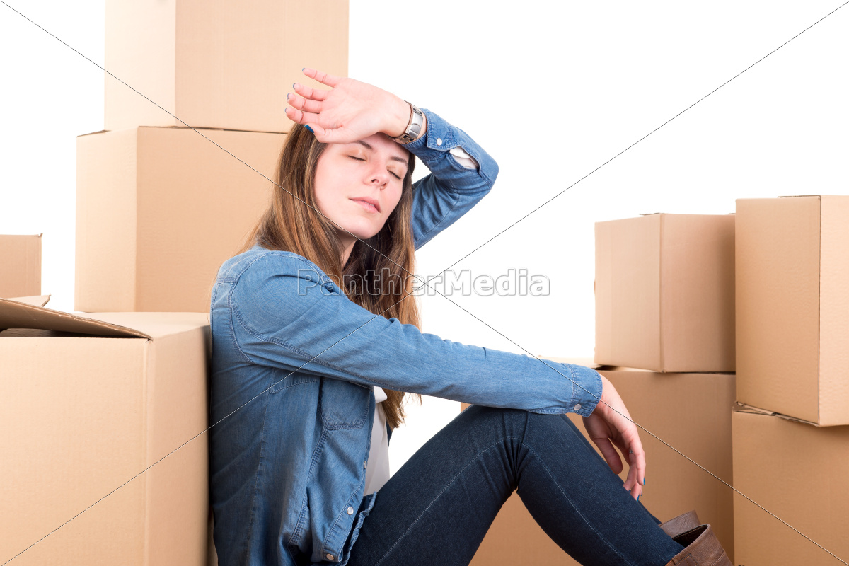 tired, of, unpacking - 11943081
