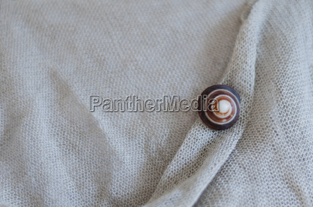 linen fabric with snail