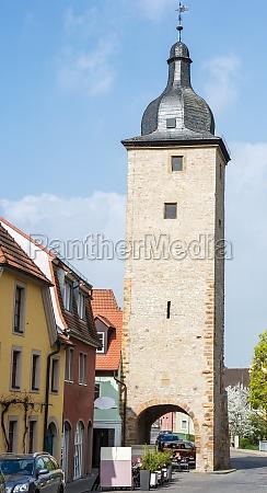 tower in volkach