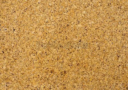 bulletin board of cork board texture