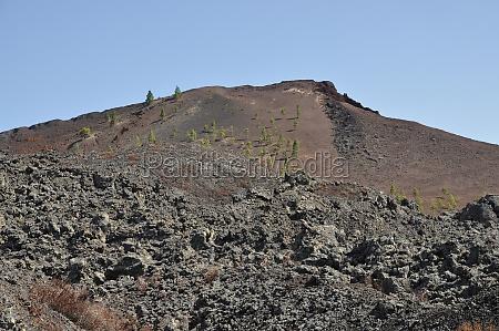 volcan negro volcan garachico tenerife