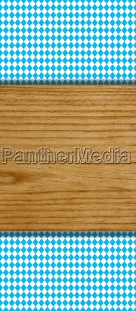 blue white diamond pattern with wooden