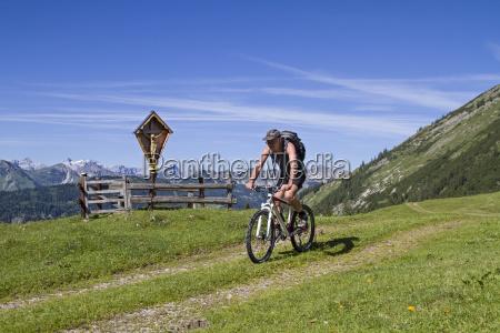 bike ride in vorkarwendel